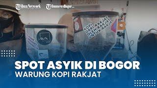 Spot Nongkrong Asyik di Bogor, Minum Kopi dengan Suasana Anti Mainstream di Warung Kopi Rakjat