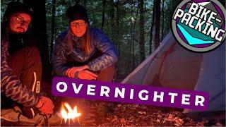Bikepacking Overnighter | Neues Zelt | MTBTravelGirl