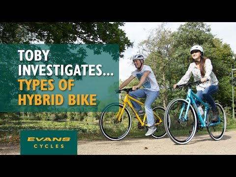 Different Types of Hybrid Bike… Toby Investigates