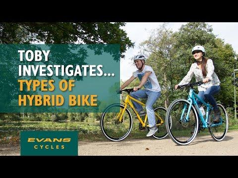 Different Types of Hybrid Bike… Toby Investigates