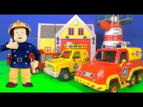 Feuerwehrmann Sam's Überraschung Rucksack Feuerwehrauto Spielzeug neue Episode mit Peppa Schwein