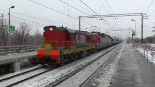 Последствия ледяного дождя на Белорусском направлении МЖД