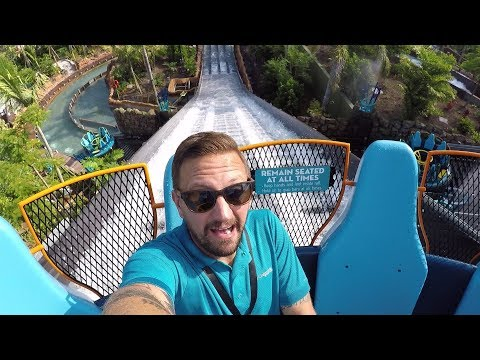 The Grand Opening Of Infinity Falls At SeaWorld Orlando | Ride POV And New Ride Announcements