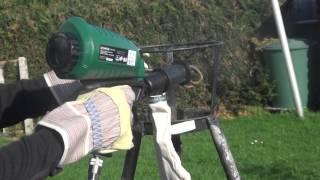 Pistolet De Sablage Parkside Lidl Pdsp 1000 B2 Air Sandblast