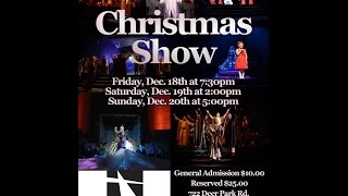 """Christmas Show """"The Night the Angels Sang"""""""