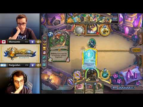 Monsanto vs Nalguidan - Group 1 Initial - Hearthstone Grandmasters Americas S2 2019 Playoffs