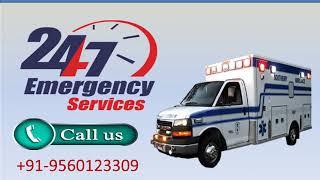 Road Ambulance Service in Birsanagar and Bara Ghagra by Medivic Ambulance
