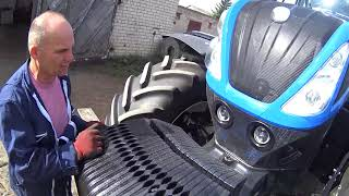 Приехал на замену демонстрационный NEW HOLLAND Т7.270 autokomond