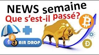Crypto pump explications, 60€ airdrops BAT, 0x, XLM...