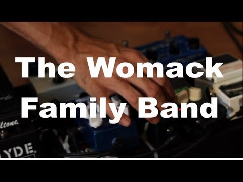 "The Womack Family Band - ""Blue"" Live at Little Elephant Recording"