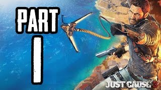Just Cause 3 | #1 | Agraelus | CZ Lets Play / Gameplay [720p60] [PC]
