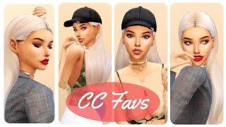MY FAVORITE CC CREATORS & LINKS😍😱   SIMS 4   WOMENS CC   PART 1  