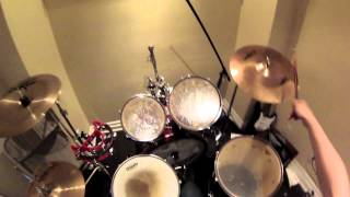 YYZ Wanna Be GoPro Drum Cover