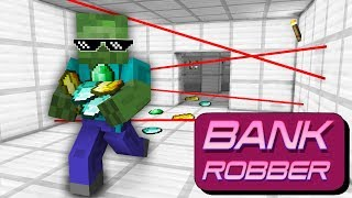 Monster School : BANK ROBBERY CHALLENGE - Minecraft Animation