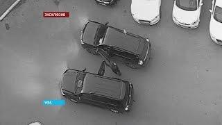 Уфимского мажора на внедорожнике задержал начальник ГИБДД республики