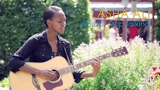Asha Ali -  Words / Stop Talking (Acoustic session by ILOVESWEDEN.NET)