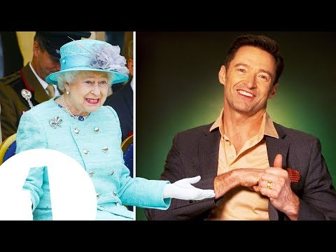 """She Had No Idea!"" Hugh Jackman On Surprising The Queen."