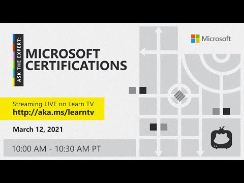 Ask the Expert: Microsoft Certifications - YouTube