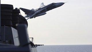 Российский Су 24 опять возле американского эсминца Donald Cook. Шок гарантирован