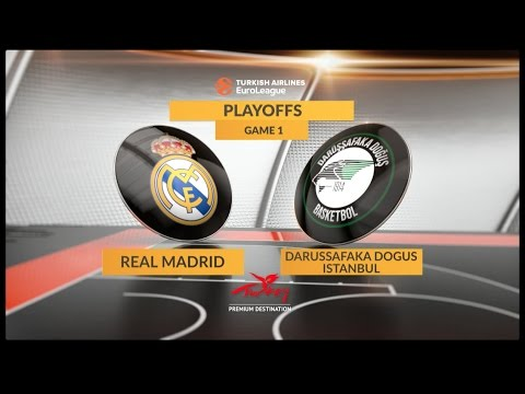 EuroLeague Highlights Playoffs 1: Real Madrid 83-75 Darussafaka Dogus Istanbul