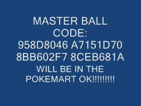 Pokemon Emerald Gameshark Codes (work)