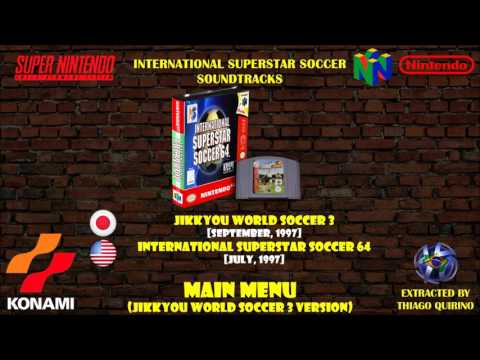 Soundtrack [Jikkyou World Soccer 3] Main Menu