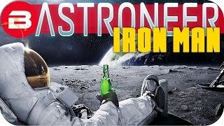 Astroneer Gameplay - MAN IN THE MOON (ONE LIFE YOUR RULES ) #9 Let's Play Astroneer Ironman