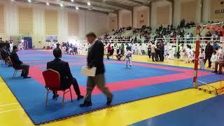 Hamza Hani- Kata Empi-  1st Challenge Championship Karate Dubai 09/02/2018.