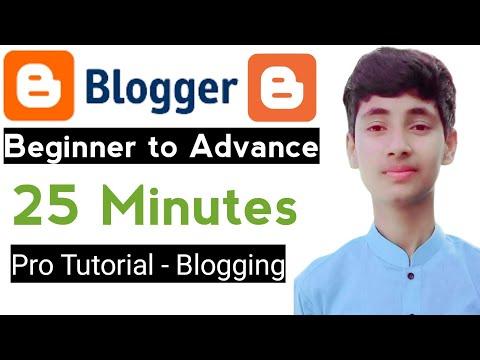 Blogger tutorial for beginners 2021 || blogger tutorial || blogger tutorial for beginners in hindi