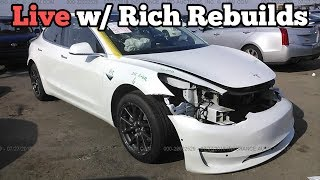 Are Electric Cars the Future LIVE w/ Rich Rebuilds 10/10/2018
