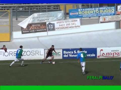 immagine di anteprima del video: PORTOGRUARO-FERALPISALO´ 1-1