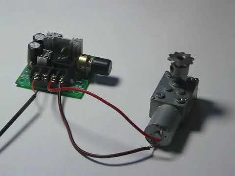 motorregler dc schaltplan pwm drehzahlregler 12v 24v 36v 48v 10a 20a lüfter regeln