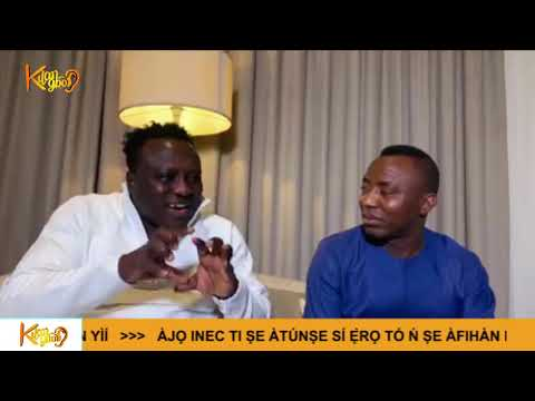 Saheed Osupa and Remi Aluko endorse Sowore ahead of the 2019 Presidential election.