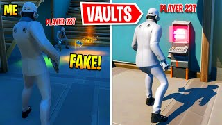 I Set Up The WRONG BOSS Keycard At Vaults In Fortnite
