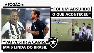Dodô dá boas-vindas a Rafael Moura no Botafogo e relembra 'roubo' contra o Flamengo: 'Absurdo!'
