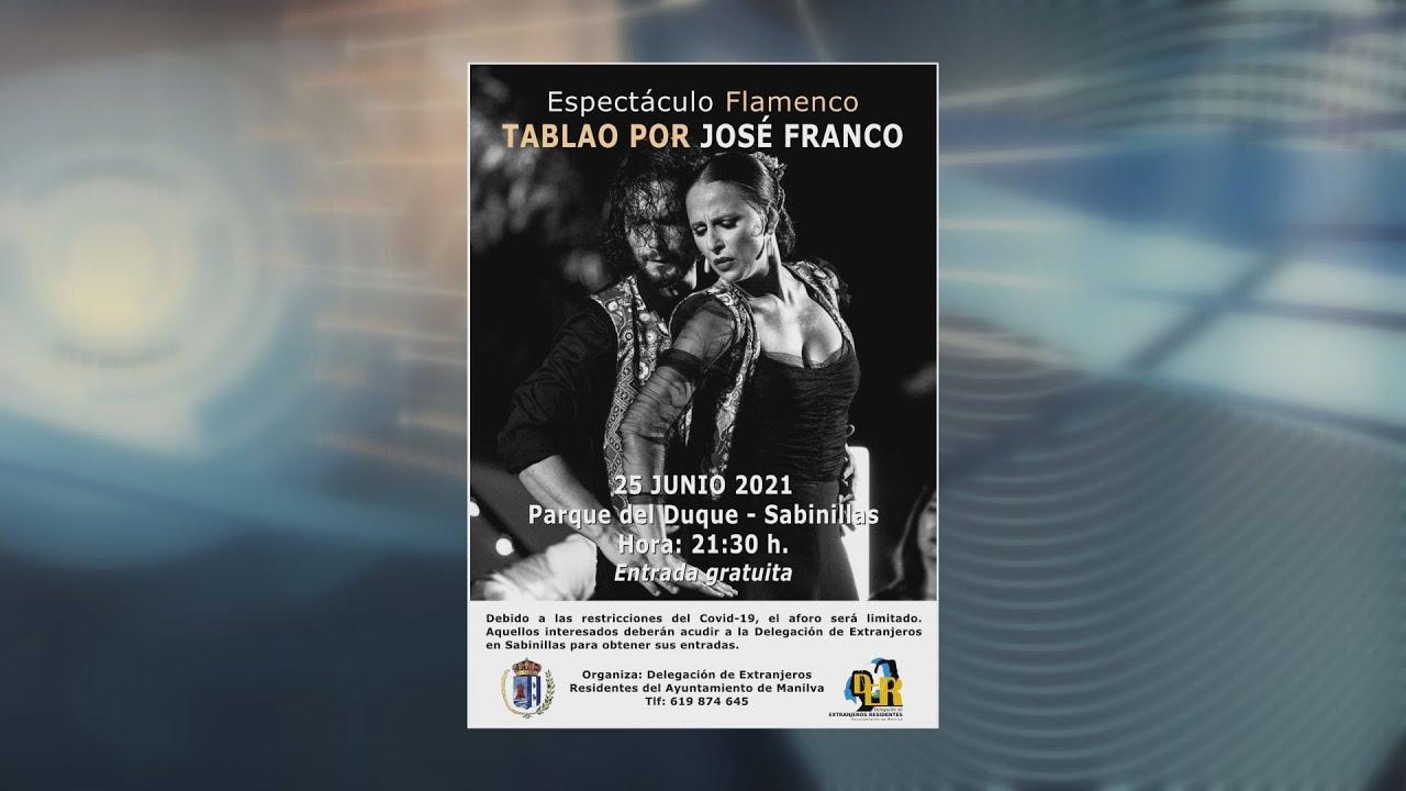 Espectáculo flamenco 'Tablao' en Sabinillas