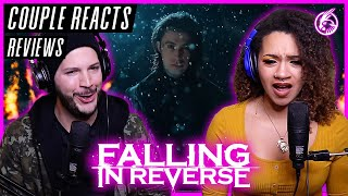 """COUPLE REACTS - Falling In Reverse """"The Drug In Me Is Reimagined"""" - REACTION / REVIEW"""