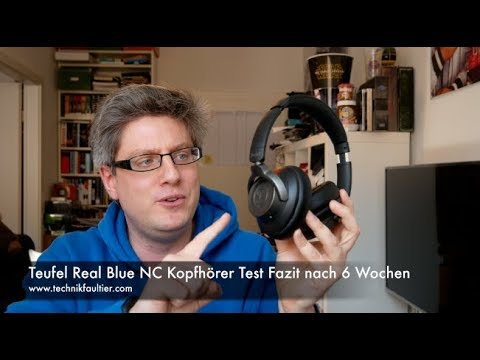 Teufel Real Blue NC Kopfhörer Test Fazit nach 6 Wochen
