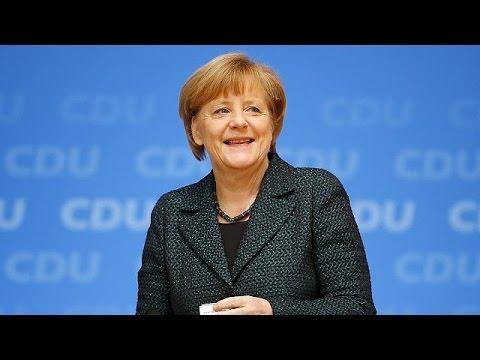 Angela Merkel élue pour la 8e fois à la tête de la CDU