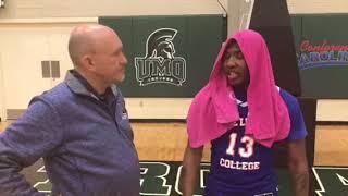 Blue Lights College Men's Basketball defeats University of Mount Olive JV