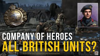 THERES SO MUCH TO BUILD! |  COMPANY OF HEROES 2 | ALL UNITS MOD