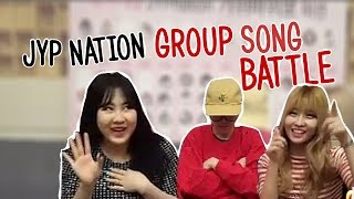Jimin Does Battle (JYP Group Song)