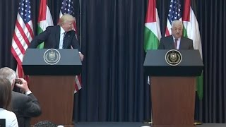 Trump And Palestinian President Abbas - Full Event