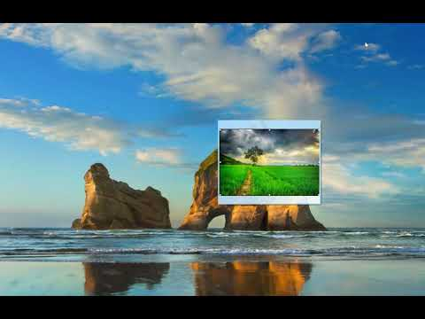 Inserting pictures into desktop sticky notes in Windows