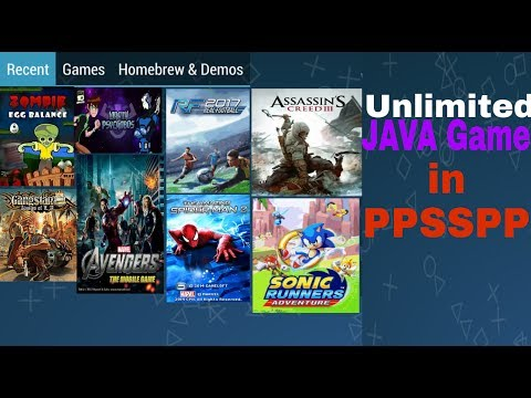 How to play java games on android in ppsspp (Hindi)