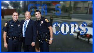 GTA 5 COP ROLE PLAY #1 TERRORIST ATTACKS COP