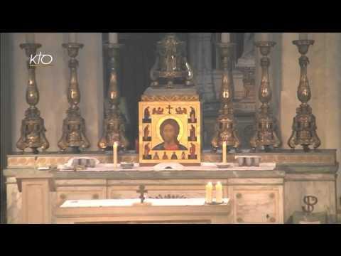 Vêpres et Eucharistie du 16 avril 2016