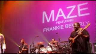 Maze featuring Frankie Beverly - While I'm Alone
