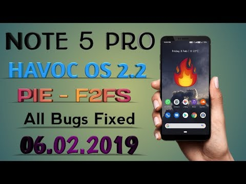 Tutorial Install Havoc-OS Official Pie 9 0 - Xiaomi Redmi