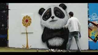 Foxs Biscuits  Vinnie the Panda Graffiti Spot